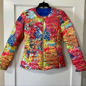 Lilly Pulitzer Reversible Down Jacket